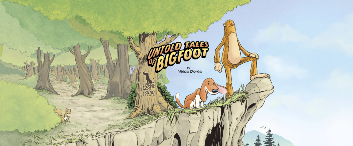 Untold Tales of Bigfoot, Coming To Print, 2016