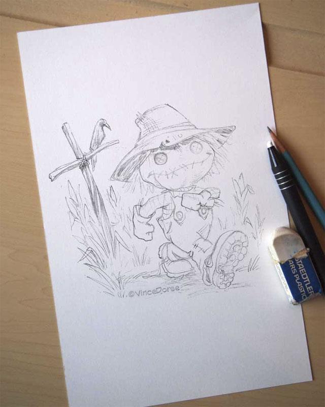 Scarecrow_sketch